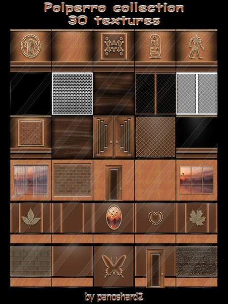 Polperro collection 30 textures for imvu creator rooms ( will be sold to ten creator)
