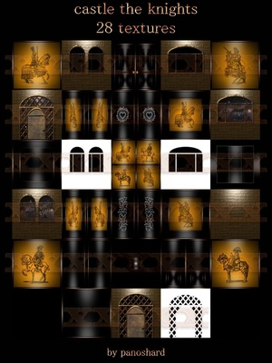 Castle the knights 28 Textures IMVU room