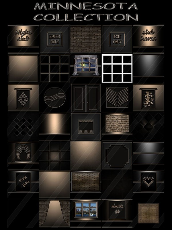 MINNESOTA COLLECTION 35 TEXTURES FOR IMVU CREATOR (will be sold to ten creators)