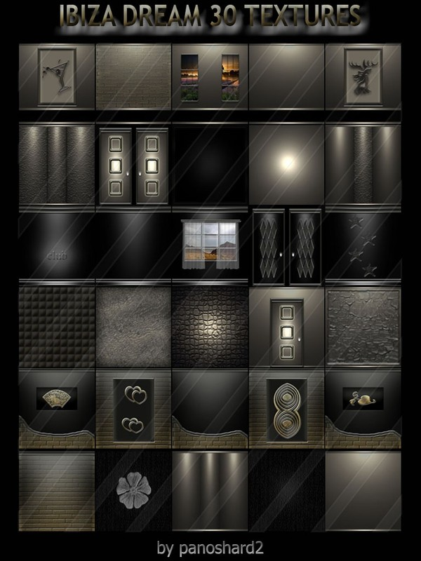 IBIZA DREAM 30 TEXTURES FOR IMVU CREATOR  ROOMS ( will be sold to ten creator)