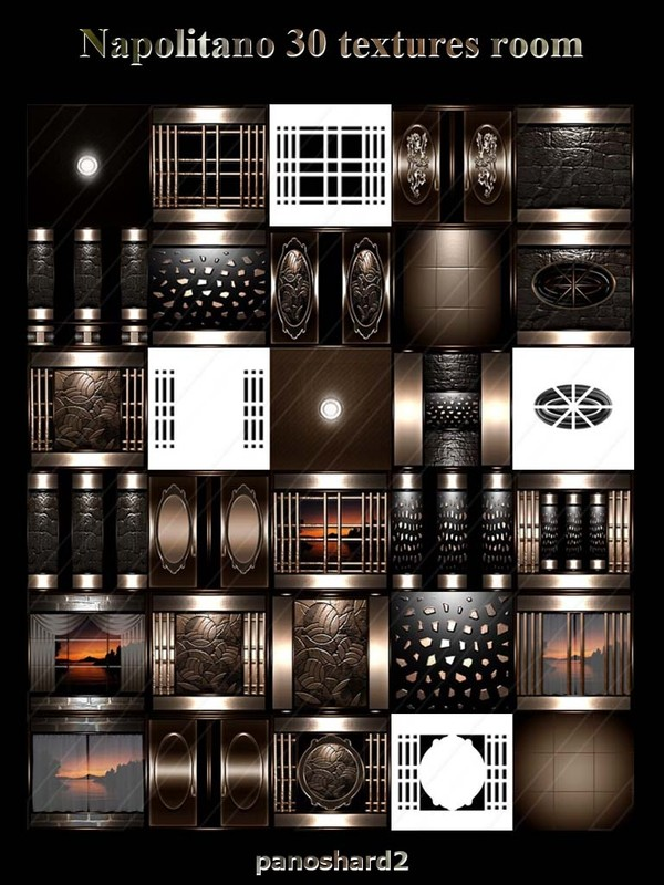 Napolitano 30 textures FOR IMVU CREATOR ROOMS