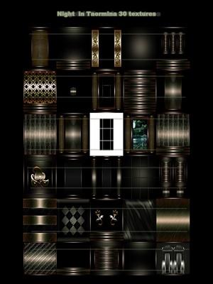 Night in Taormina 30 textures imvu room