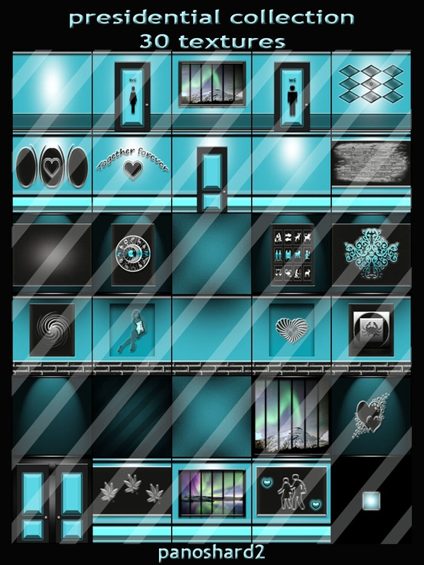 presidential collection 30 textures for imvu rooms