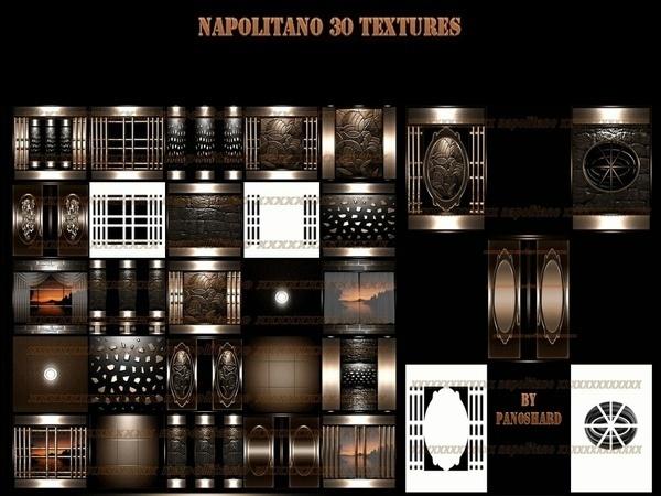 Napolitano 30 textures room