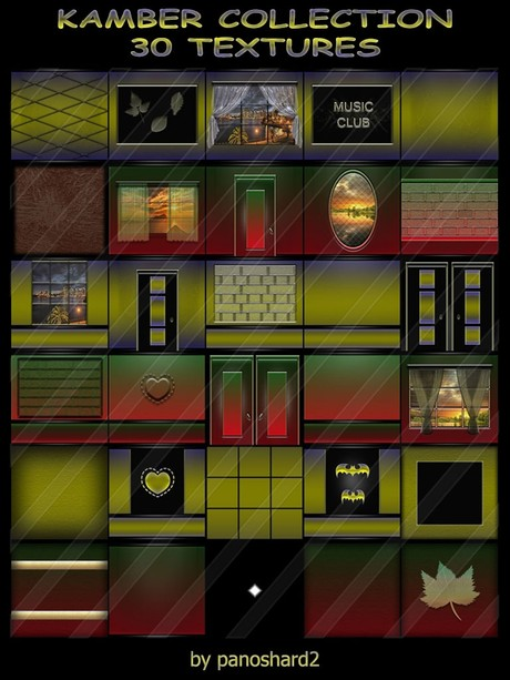 KAMBER COLLECTION 30 TEXTURES FOR IMVU CREATOR ROOMS ( will be sold to ten creator)