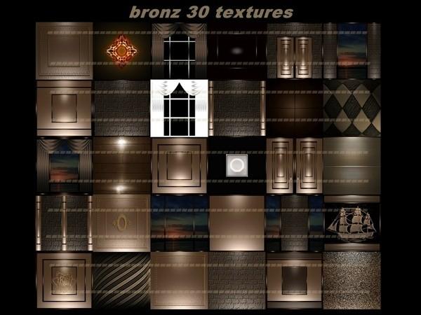 Bronz 30 textures room