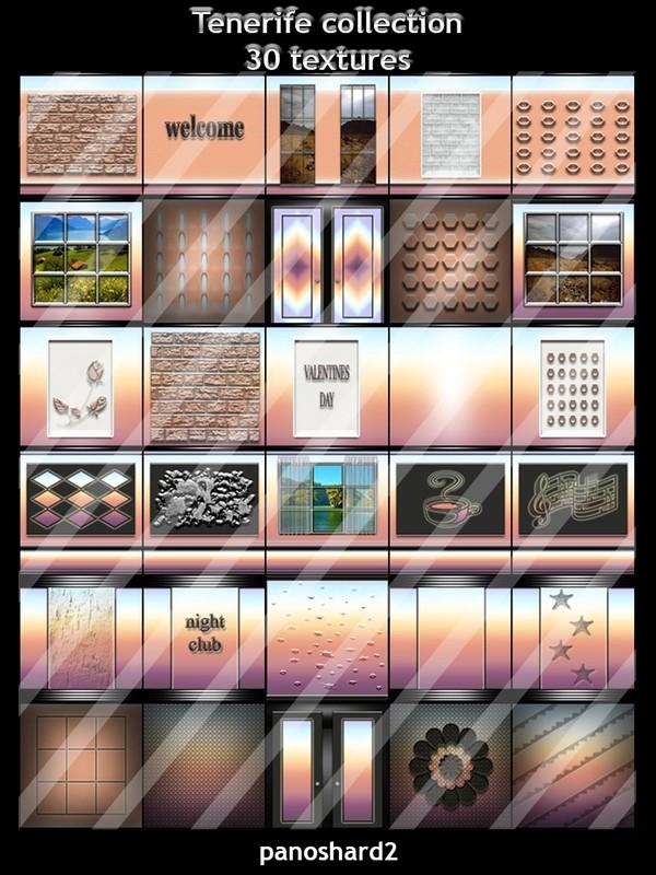 Tenerife collection 30 textures