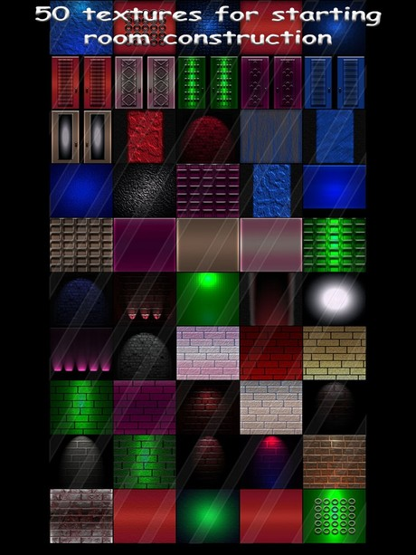 50 textures for starting imvu room construction ( will be sold to ten creator)