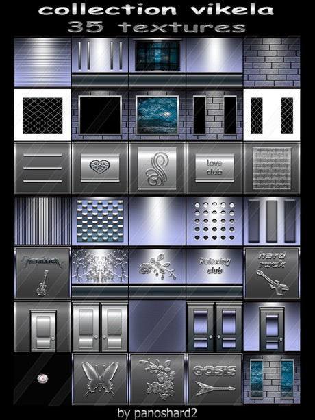 collection vikela 35 textures for imvu creator rooms  ( will be sold to ten creator)