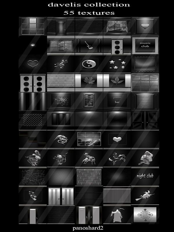Davelis collection 55 textures