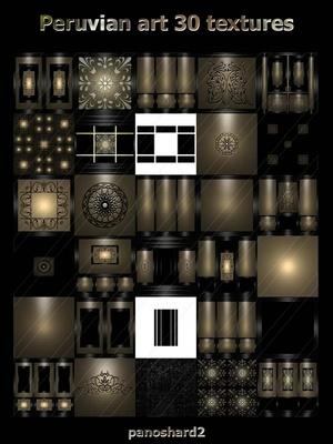 Peruvian art 30 textures