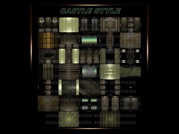 CASTLE STYLE 32 TEXTURES