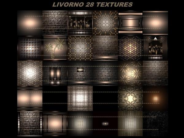LIVORNO 28 TEXTURES FOR IMVU CREATOR ROOMS