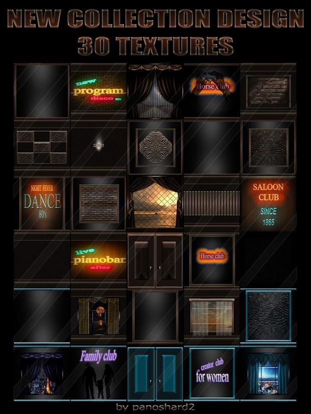 New Collection Design 30 Textures For Imvu Rooms Panoshard2