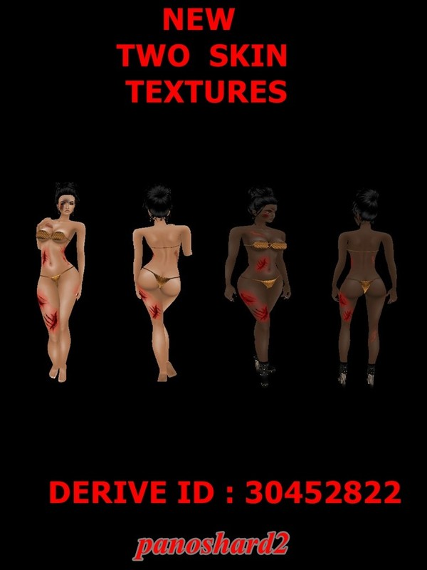 TWO NEW FEMALE SKIN TEXTURES FOR IMVU