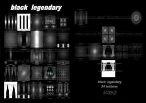 black legendary 34 textures
