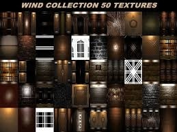 wind collection 50 textures room