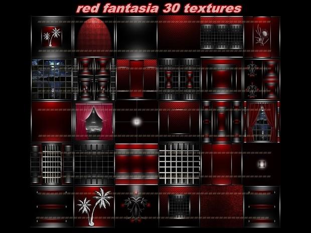 RED FANTASIA 30 TEXTURES