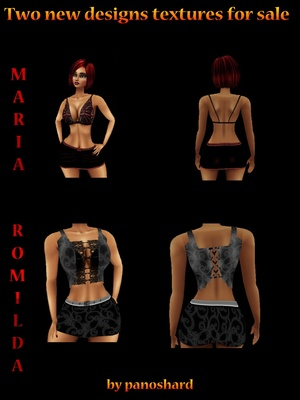 Offer 2 Files WITH RESELL RIGHTS   15$   MARIA & ROMILDA