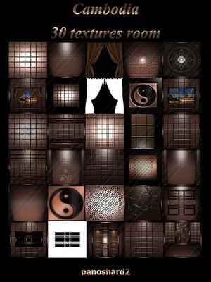 Cambodia 30 textures room