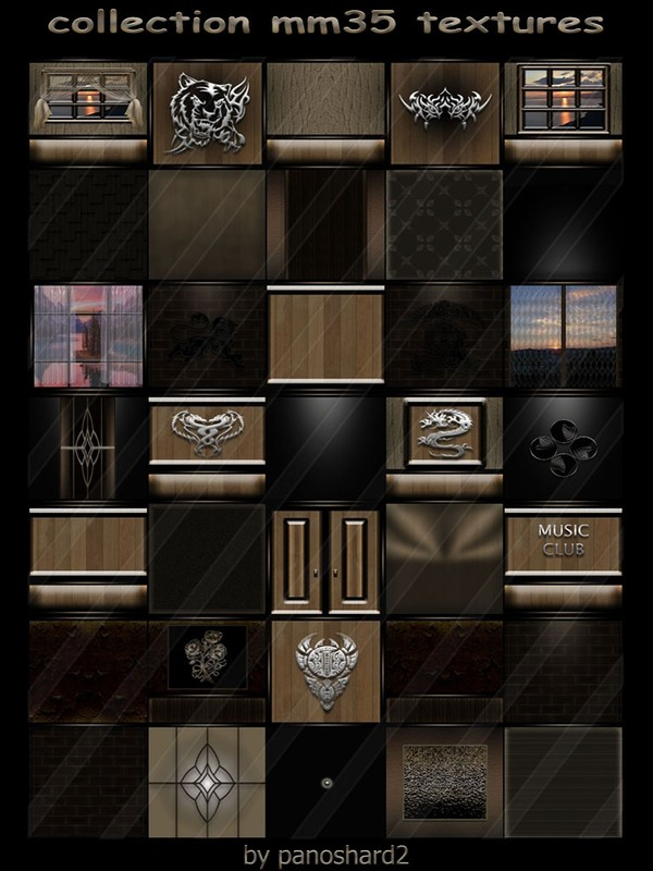 collection mm35 textures for creator imvu rooms  (will be sold to ten creators)