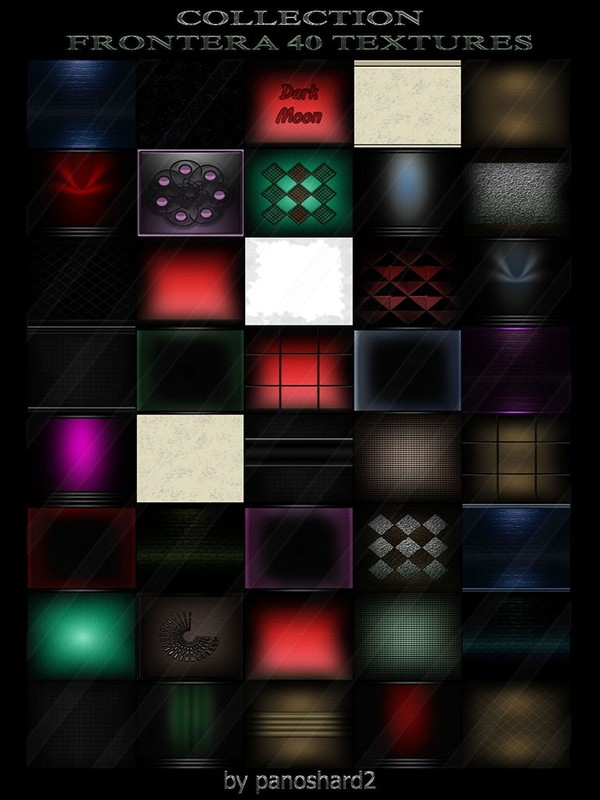 COLLECTION FRONTERA 40 TEXTURES FOR IMVU ROOMS