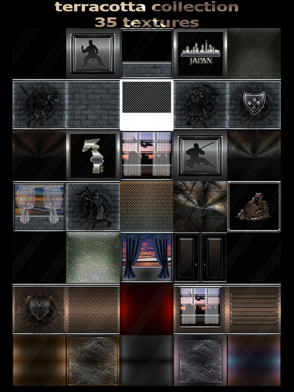 terracotta collection 35 textures for imvu rooms