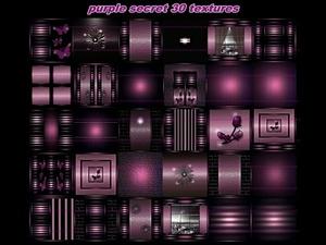 purple secret 30 textures