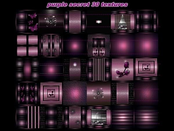 purple secret 30 textures FOR IMVU CREATOR ROOMS