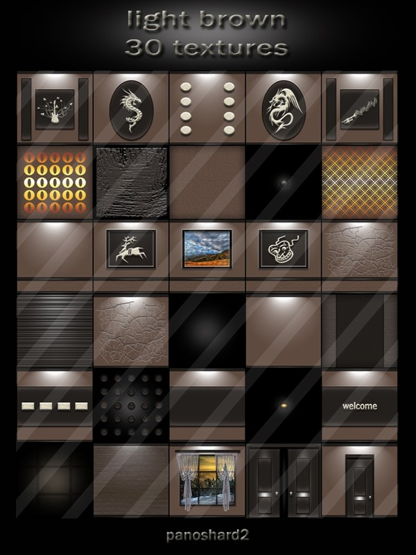 light brown 30 textures for rooms
