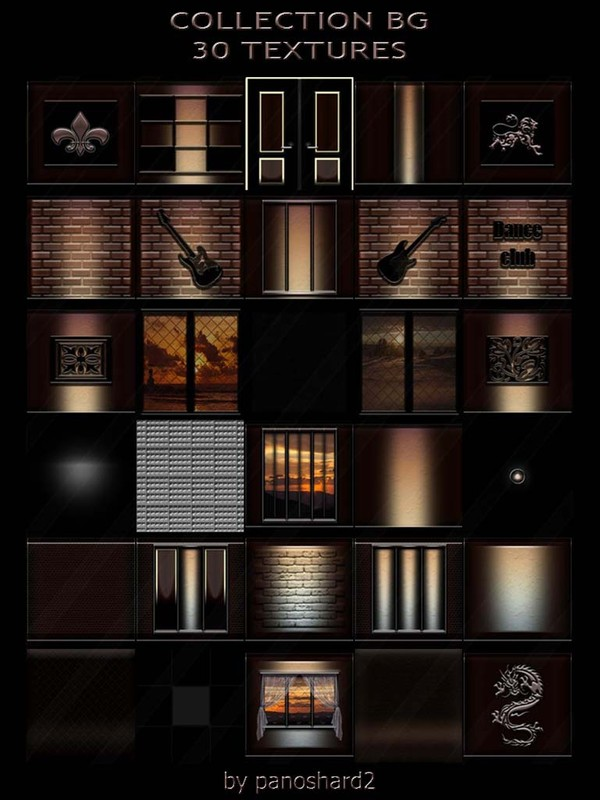 COLLECTION BG 30 TEXTURES FOR IMVU CREATOR ROOMS (will be sold to ten creators)
