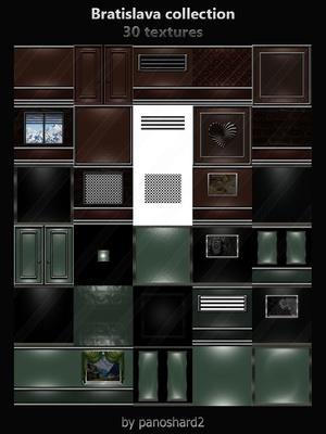 Bratislava collection 30 textures for imvu room