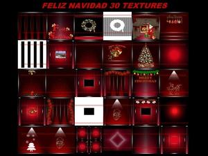 feliz navidad 30 textures