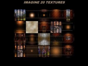 IMAGINE 20 TEXTURES ROOM