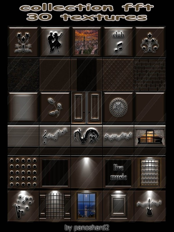 Collection fft 30 textures for imvu creator  rooms  (will be sold to ten creators)