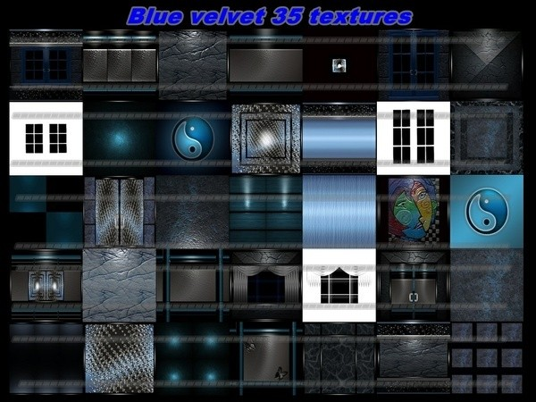 blue velvet 35 textures