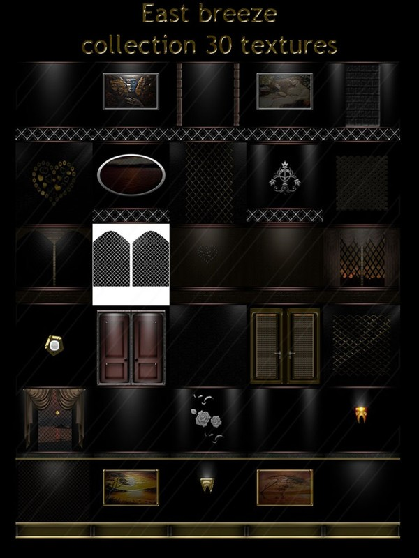 East breeze collection 30 textures for imvu room