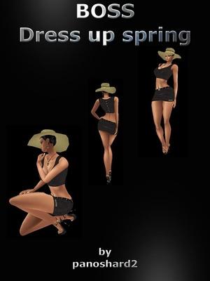 BOSS OUTFIT DRESS  (sale textures dress format jpg)