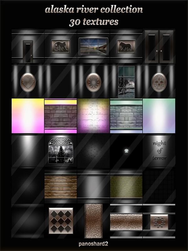 alaska river collection 30 textures for imvu rooms