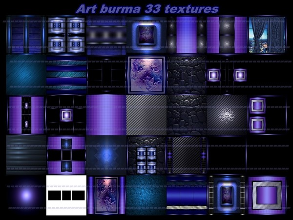 art burma 33 textures for imvu rooms