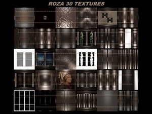 ROZA 30 TEXTURES room