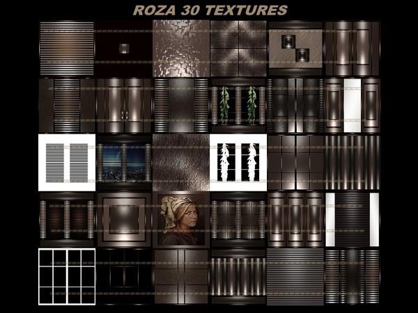 ROZA 30 TEXTURES FOR IMVU CREATOR ROOMS