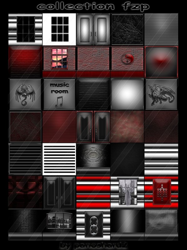 collection fzp  35 textures  for imvu creator