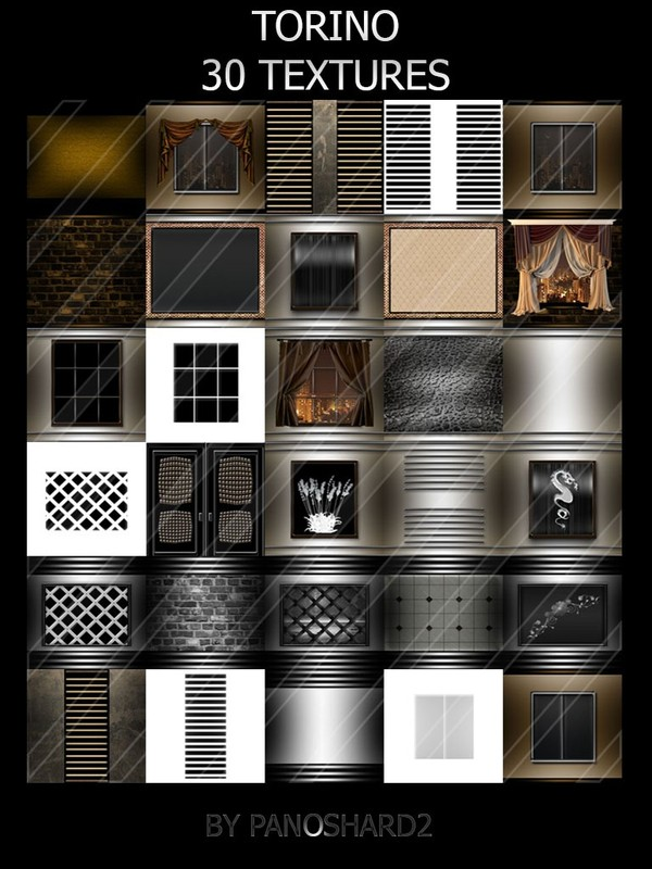 NEW PACK TORINO 30 TEXTURES ROOM