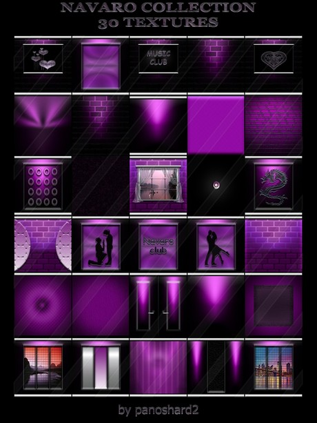 NAVARO COLLECTION 30 TEXTURES FOR IMVU CREATOR ROOMS (will be sold to ten creators)