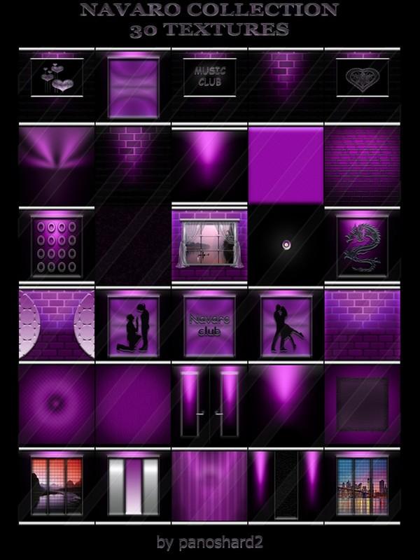 NAVARO COLLECTION 30 TEXTURES FOR IMVU CREATOR ROOMS (will be sold to ten creators)