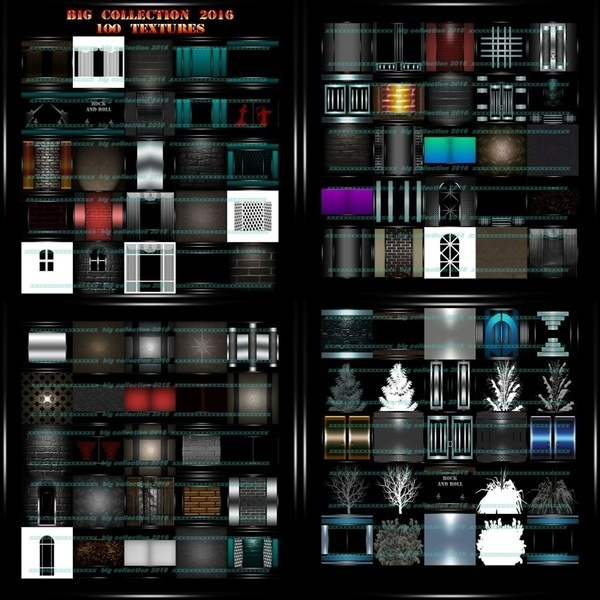 Big collection 2016   100 textures imvu  room