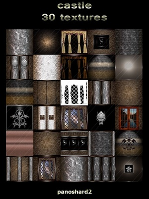 castle 30 textures