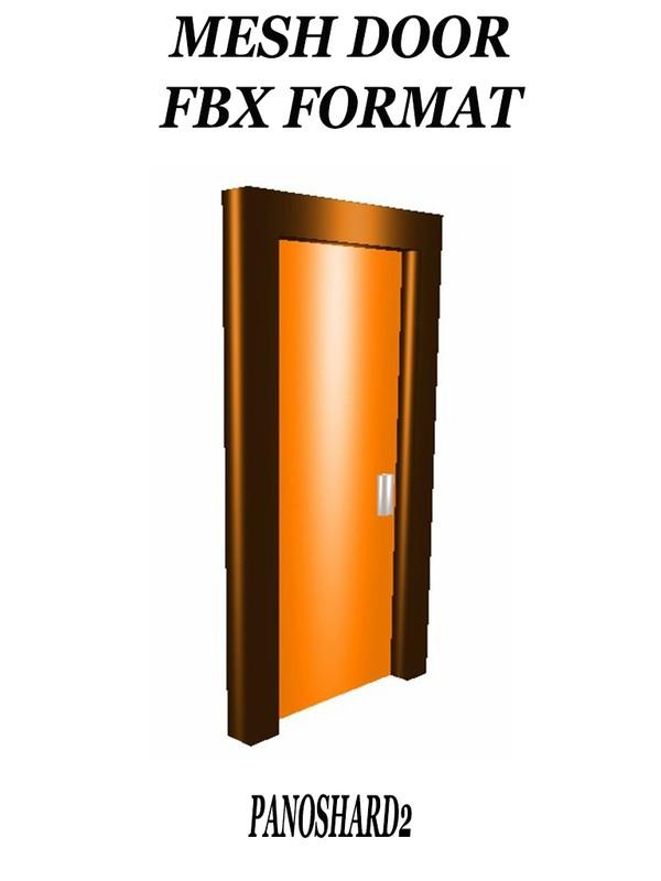 DOOR2 MESH FILE FBX