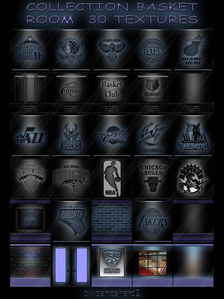 COLLECTION BASKET ROOM  30 TEXTURES FOR IMVU CREATOR  (will be sold to ten creators)
